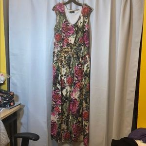 IGIGI Plus size maxi dress